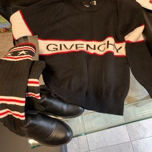 Kids Givenchy Sweater With Boots